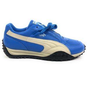 Puma Temo Perf Azure Blue Retro Shoes 340908-07